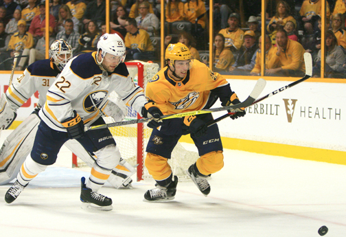 NHL: Predators edge Caps to clinch top seed in Western Conference